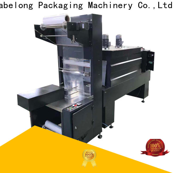 Labelong Packaging Machinery l-type shrink machine certifications for plastic bottles for glass bottles