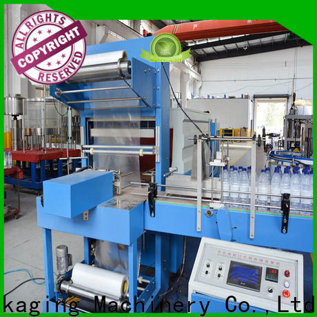 Labelong Packaging Machinery shrink wrap packaging machine supply for plastic bottles for glass bottles