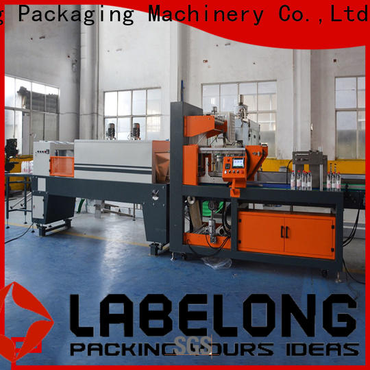 Labelong Packaging Machinery linear industrial shrink wrap plc control system for jars
