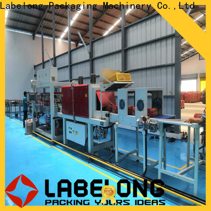 linear automatic stretch wrap machine supply for jars