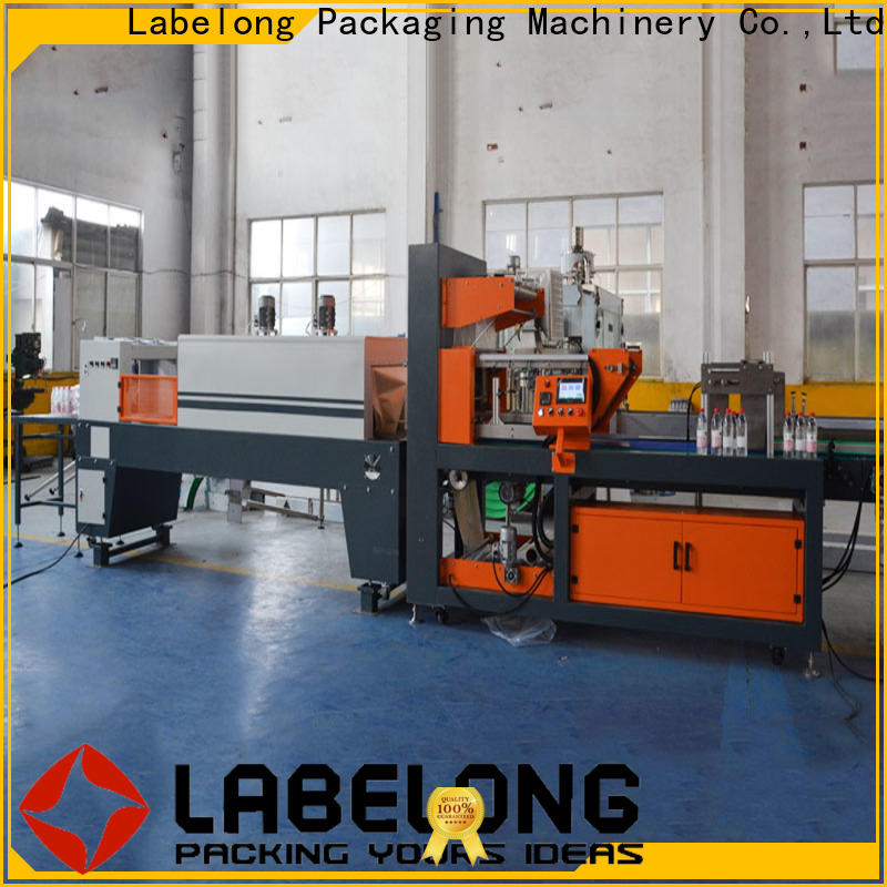Labelong Packaging Machinery shrink wrap machine for sale vendor for plastic bottles for glass bottles