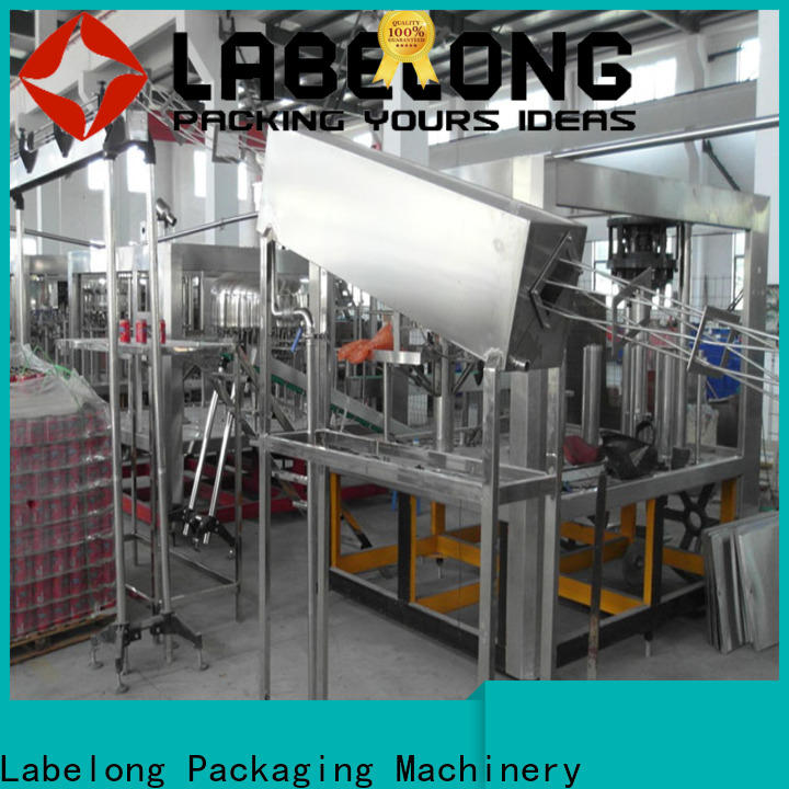 stable water bottle packing machine easy opearting for mineral water, for sparkling water, for alcoholic drinks