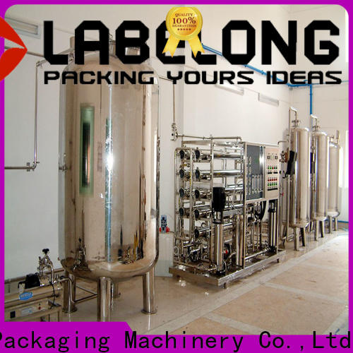 Labelong Packaging Machinery multiple filters best water filter embrane for beverage's water