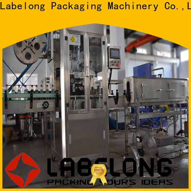 Labelong Packaging Machinery bottle label applicator certifications for chemical industry