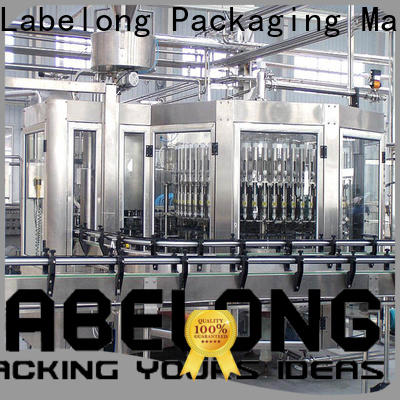 Labelong Packaging Machinery water plant machine price owner for mineral water, for sparkling water, for alcoholic drinks