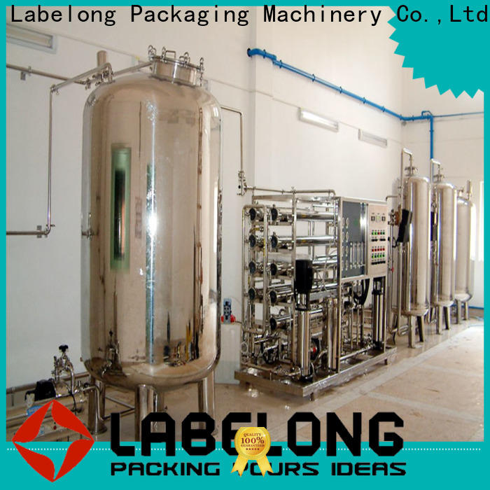 Labelong Packaging Machinery newly reverse osmosis filter ultra-filtration series for mineral water