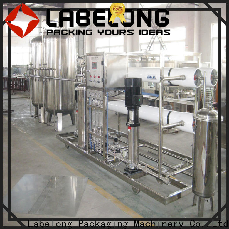 Labelong Packaging Machinery reliable water softener embrane for mineral water