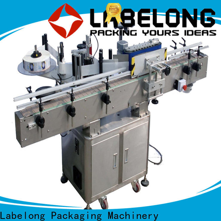 Labelong Packaging Machinery bottle label applicator owner for cosmetic
