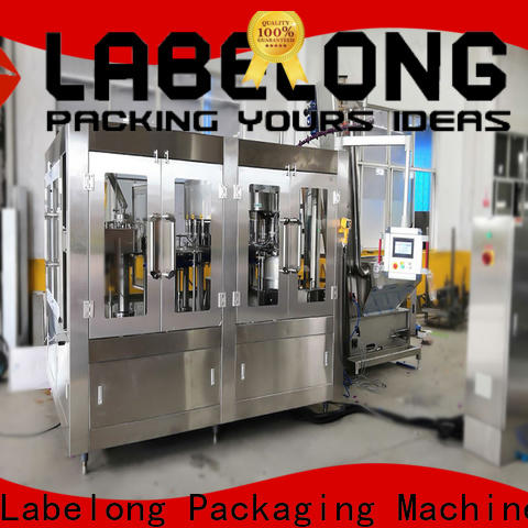 Labelong Packaging Machinery superior water plant machine owner for wine
