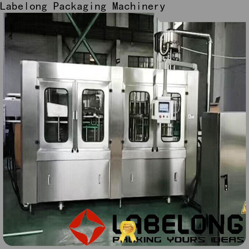 Labelong Packaging Machinery water packing machine owner for flavor water