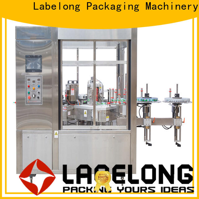 Labelong Packaging Machinery sticker maker machine with high speed rate for cosmetic