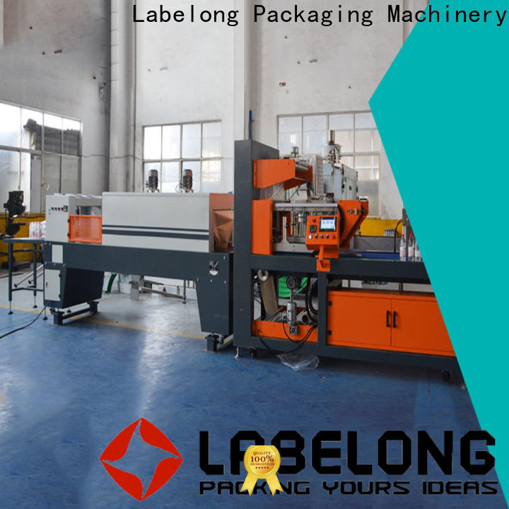 Labelong Packaging Machinery shrink wrap equipment plc control system for jars