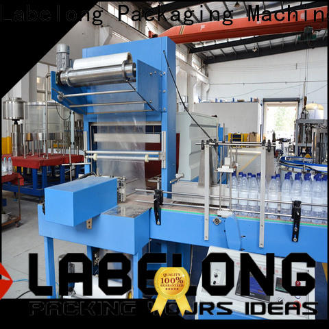 Labelong Packaging Machinery l-type with touch screen for cans