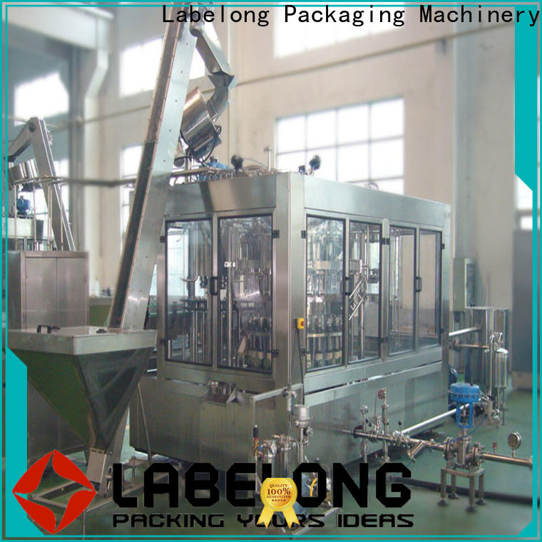 quality water bottling plant for wine