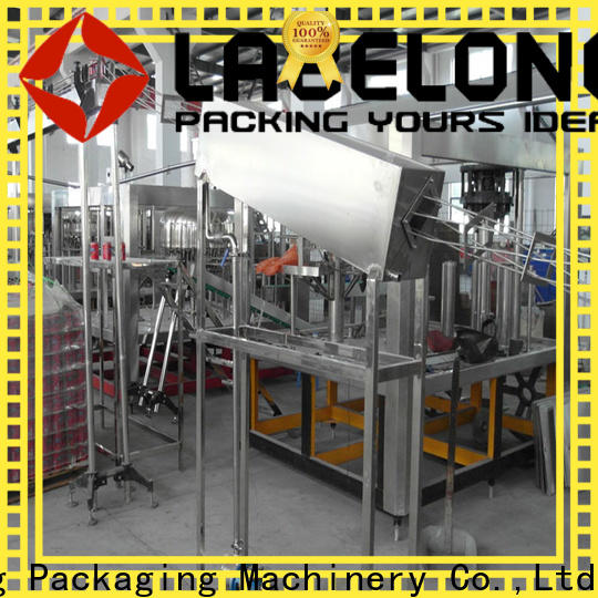 Labelong Packaging Machinery intelligent water pouch packing machine easy opearting for mineral water, for sparkling water, for alcoholic drinks