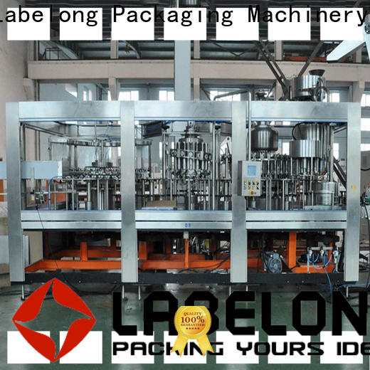 Labelong Packaging Machinery water packing machine compact structed for wine