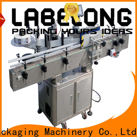 Labelong Packaging Machinery sticker labelling machine resources for beverage