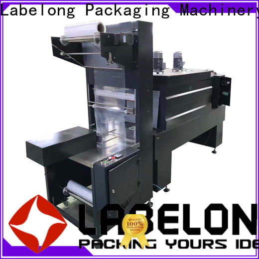 Labelong Packaging Machinery stretch wrap machine with scale supplier for plastic bottles for glass bottles