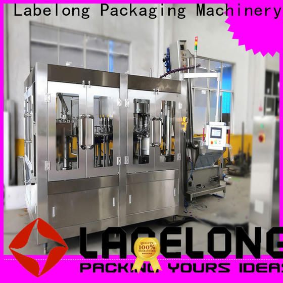 Labelong Packaging Machinery high quality automatic bottle filling machine supplier for wine