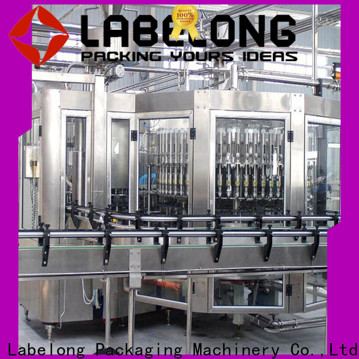Labelong Packaging Machinery water bottle filling machine good looking for flavor water