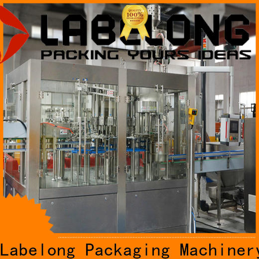 Labelong Packaging Machinery high quality bottle filling machine for flavor water