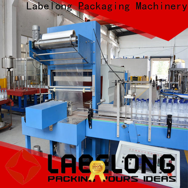 Labelong Packaging Machinery effective stretch wrapper vendor for jars