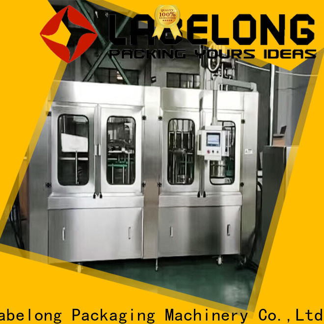 Labelong Packaging Machinery intelligent bottle filling machine price owner for flavor water