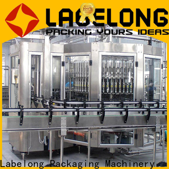 Labelong Packaging Machinery stable water bottle machine price easy opearting for mineral water, for sparkling water, for alcoholic drinks