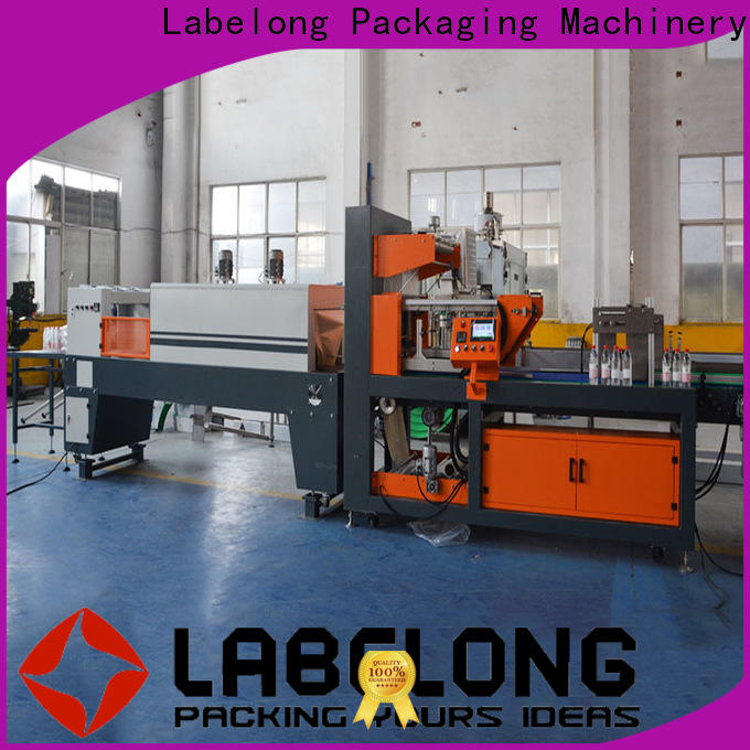 Labelong Packaging Machinery linear pallet stretch wrapping machine vendor for jars