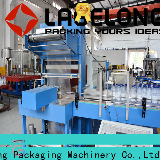 automatic shrink wrap machine vendor for small packages