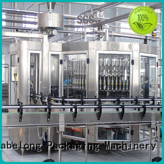 Labelong Packaging Machinery water bottling machine compact structed for mineral water, for sparkling water, for alcoholic drinks