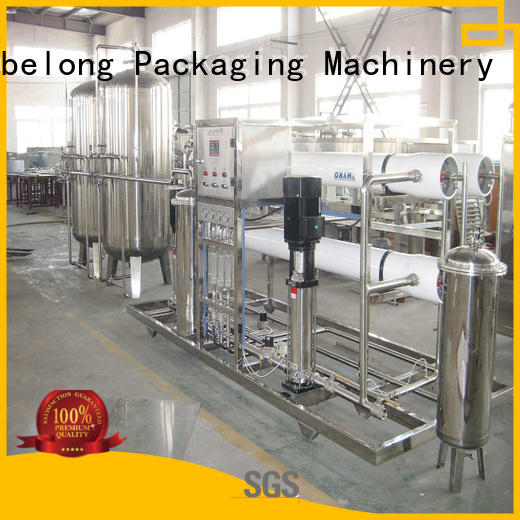 Labelong Packaging Machinery water treatment equipment ultra-filtration series for beverage's water