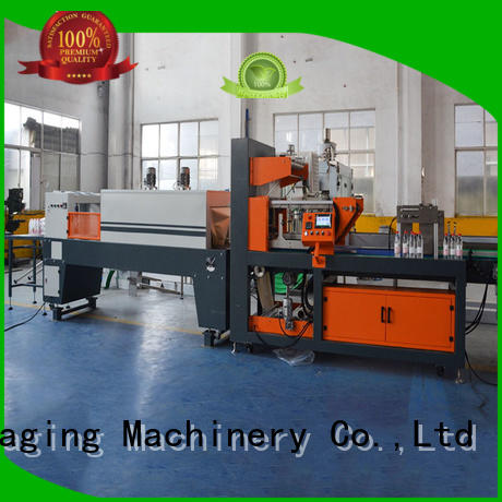 Labelong Packaging Machinery effective automatic shrink machine plc control system for jars