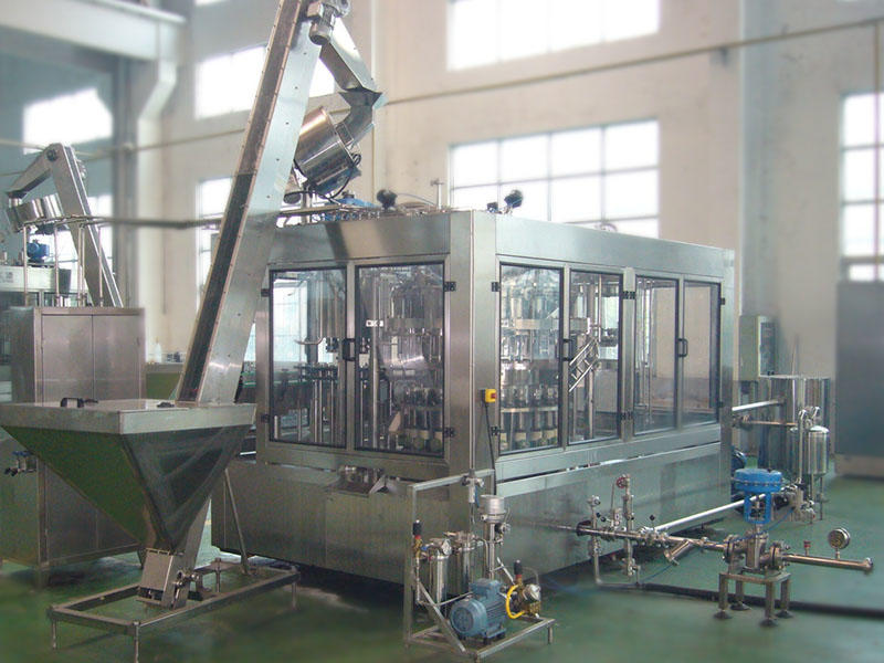 Beer filling machine