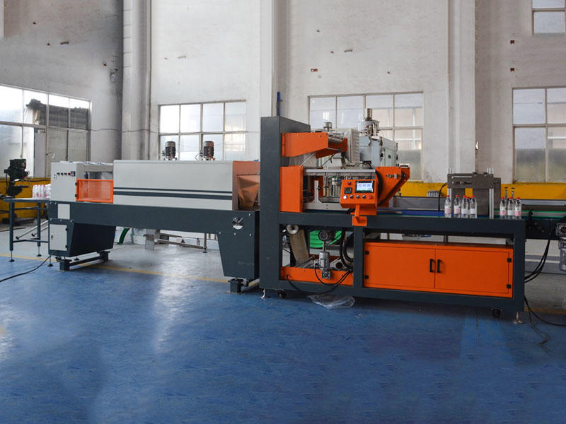 Linear Shrink film packing machine