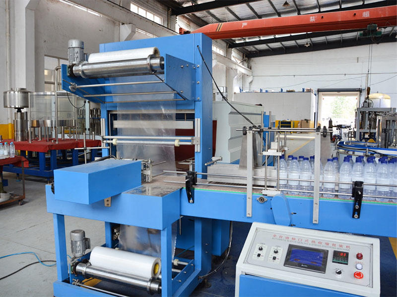 L-type Shrink film packing machine