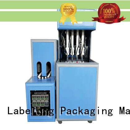 Labelong Packaging Machinery dual boots semi-automatic bottle molding machine linear template for drinking oil
