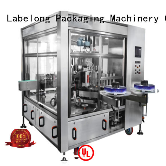 Labelong Packaging Machinery suitable labeling machine manufacturer with high speed rate for wine