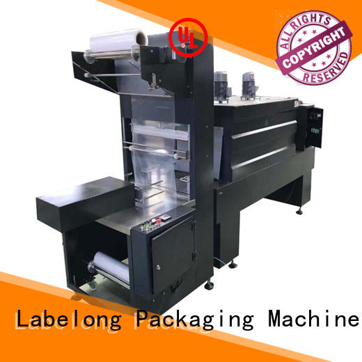 Labelong Packaging Machinery linear automatic shrink machine high speed for plastic bottles for glass bottles