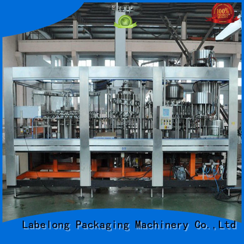 juice filling machine compact structed for still water