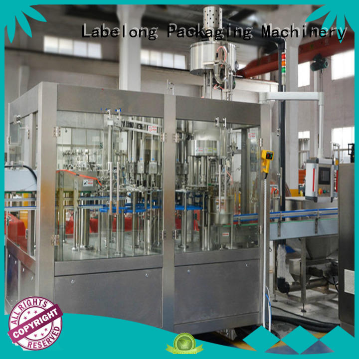 Labelong Packaging Machinery intelligent juice bottling machine good looking for still water