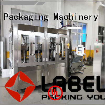 Labelong Packaging Machinery automatic water bottle filling machine easy opearting for flavor water