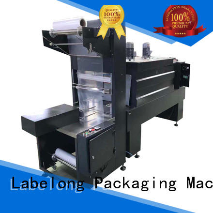 Labelong Packaging Machinery automatic shrink wrappin machine high speed for small packages