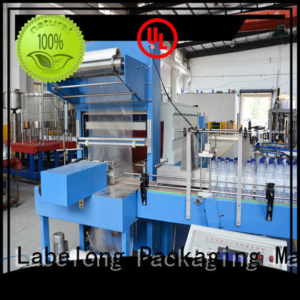 Labelong Packaging Machinery effective automatic shrink wrapper with touch screen for small packages