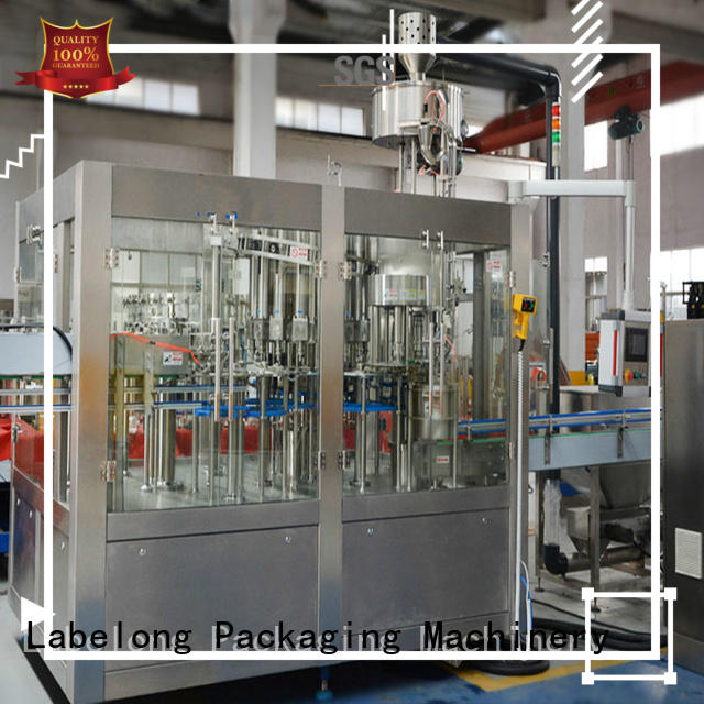 Labelong Packaging Machinery automatic water bottling equipment compact structed for flavor water