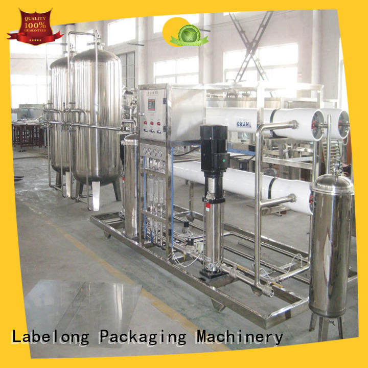 Labelong Packaging Machinery water purification systems ultra-filtration series for pure water