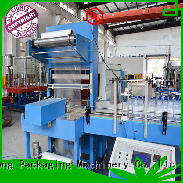 Labelong Packaging Machinery automatic shrink wrap machine with touch screen for plastic bottles for glass bottles