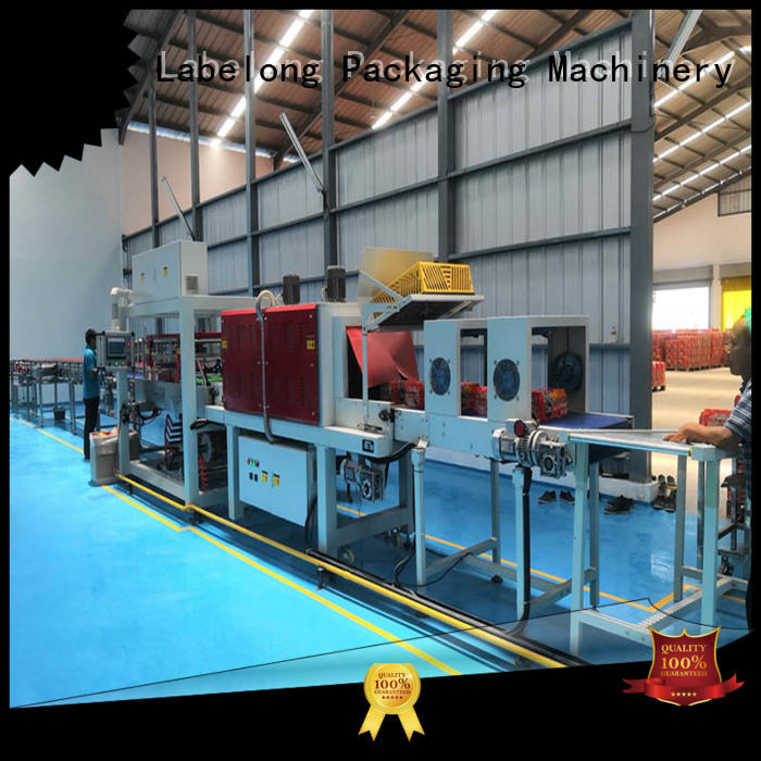 Labelong Packaging Machinery automatic shrink packaging machine with touch screen for jars