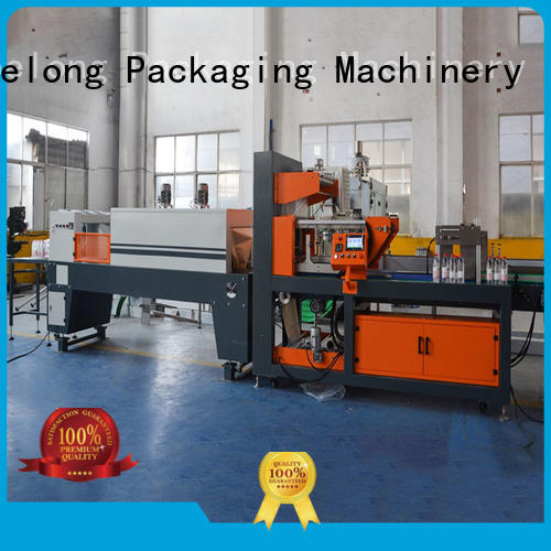 automatic shrink wrap machine plc control system for small packages Labelong Packaging Machinery