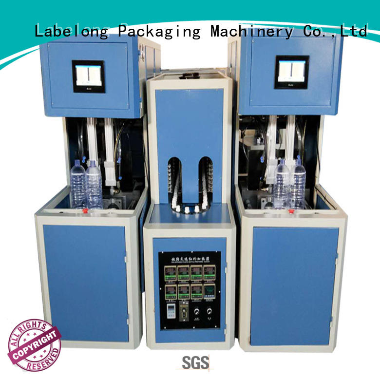 Labelong Packaging Machinery dual boots automatic bottle blowing machine energy saving for csd
